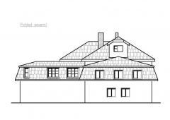 Studie přístavby pečovatelského domu, Rakovník. II. etapa