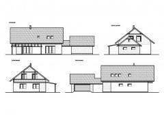 Novostavba pasivního RD s garáží, Rakovnicko, včetně zajištění výstavby